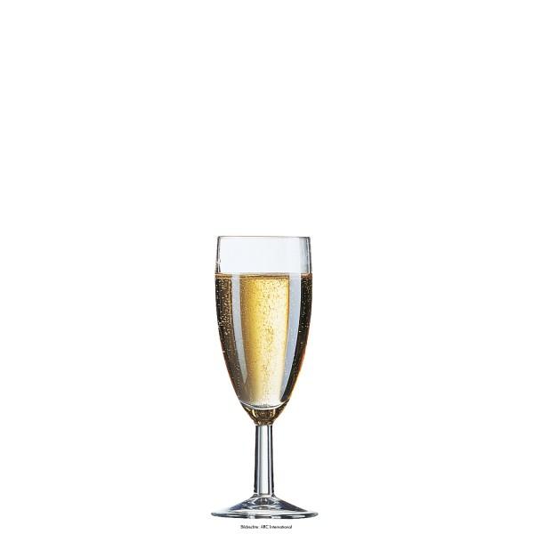 Reims Sektglas, geeicht 0,1 l