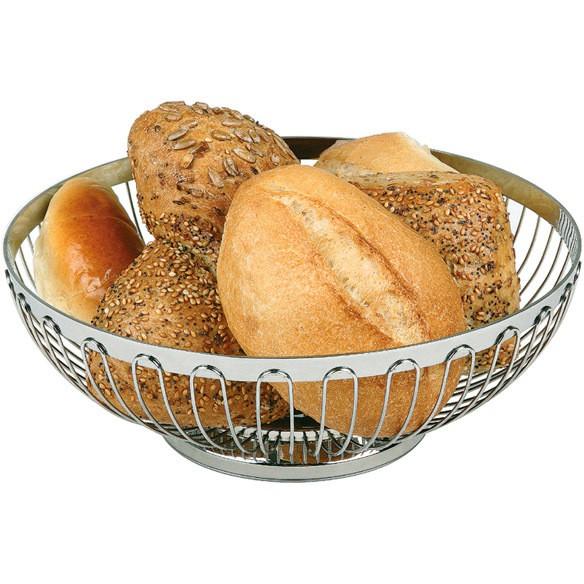 Brot- und Obstkorb, rund