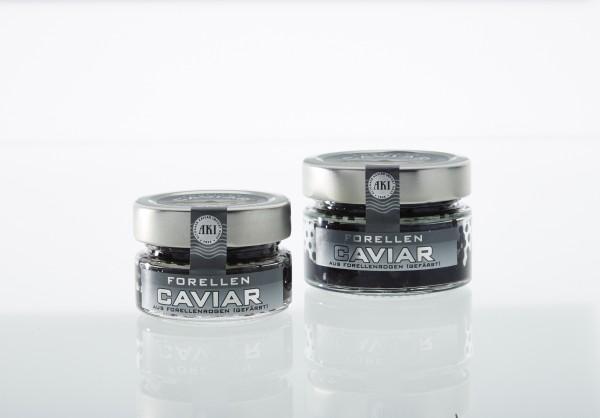 Forellenkaviar Schwarz 100 g