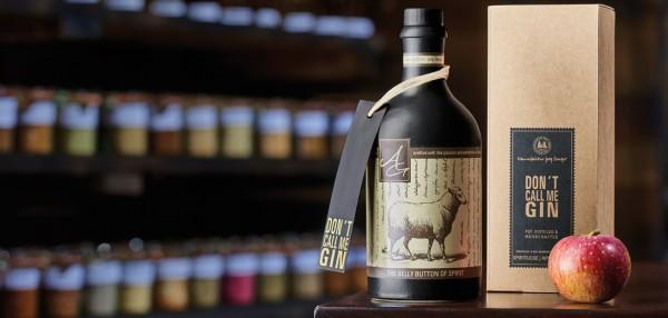 "Apfelbrand ""Don´t call me Gin"" 46% vol. Flasche 0,5 l"