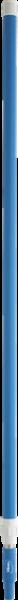Teleskopstiel blau