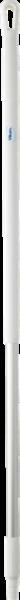 Ergonomischer Aluminiumstiel 1,3 m weiß